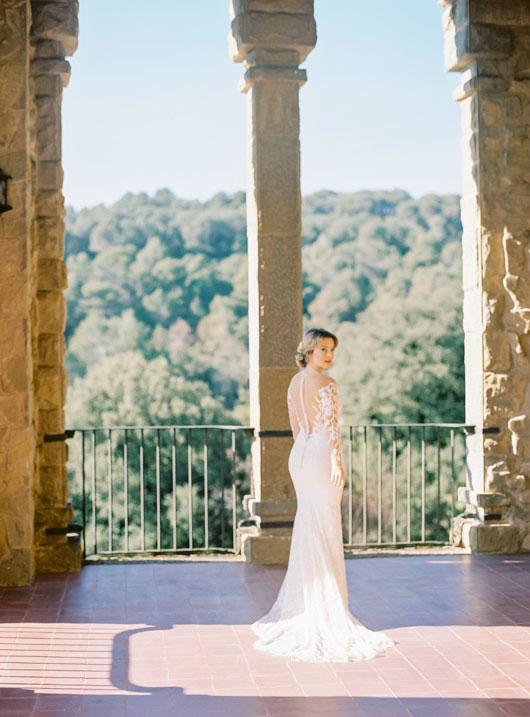 Bridal shoot in finca La Baronia