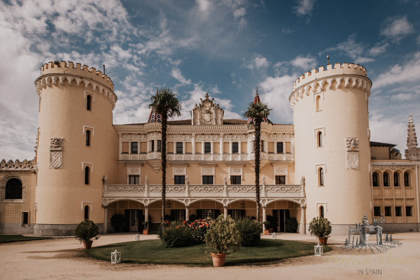 Castle Vinuelas - Perfect Venue