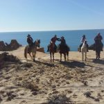 Horse riding route in Huelva