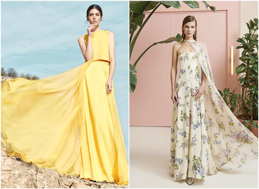 Modelos de vestidos para damas de honor 2019