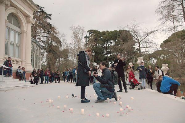wedding proposal in Spain
