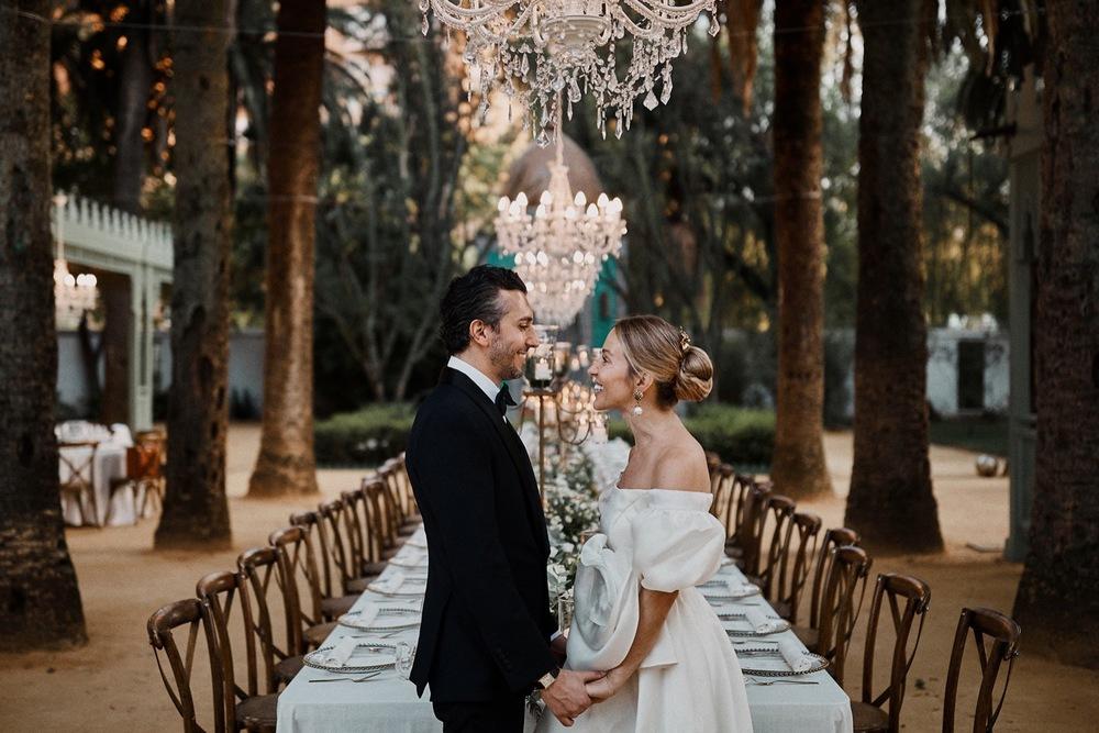 Seville Destination wedding in Villa Luisa