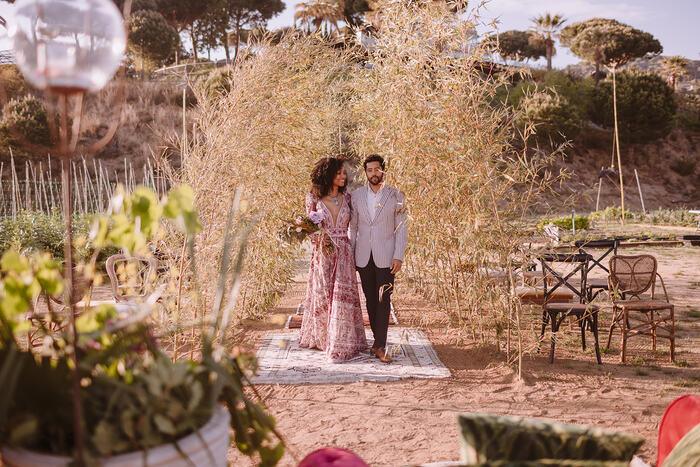 Una boda llena de momentos mágicos